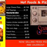 Hiram pizza and snackbar