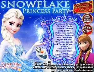 SnowflakeBirthdayParties