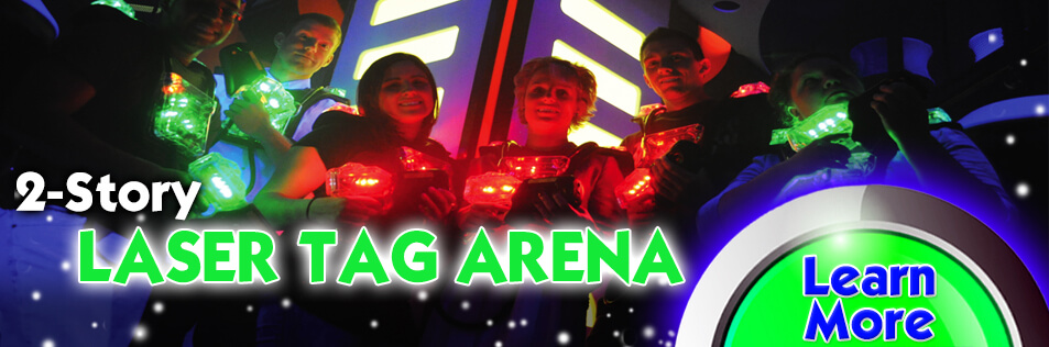 The BEST Laser Tag Experience right here in Hiram, Ga.