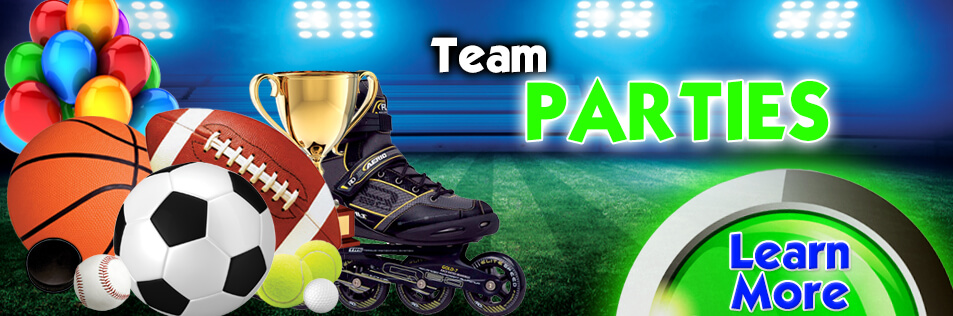 Team Parties at Sparkles Family Fun Centers