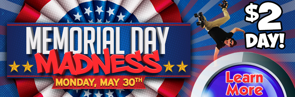 Memorial Day Madness at Sparkles!