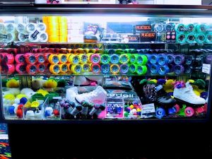 Customize your favorite skates at Sparkles' Pro Shop in Hiram!