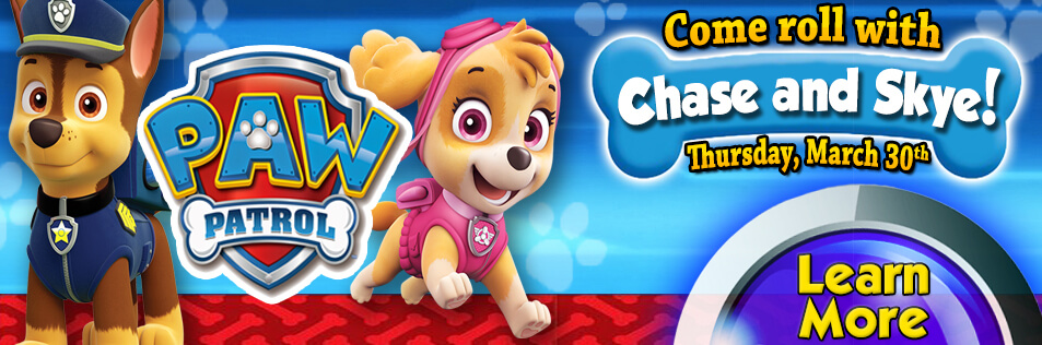 Roll with Paw Patrol!