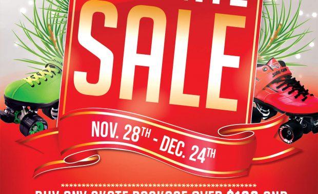 Christmas Skate Sale 2015