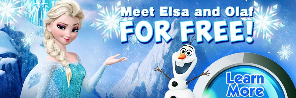 Customer Appreciation Skate with Elsa and Olaf at Sparkles Hiram 2019!